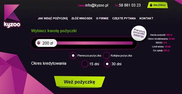 Kupony rabatowe dla Kyzoo.pl